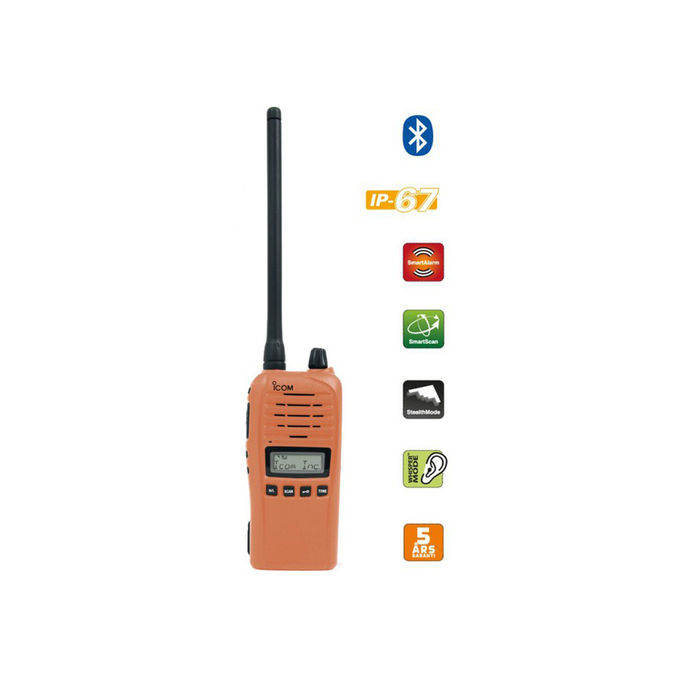 Icom ProHunt Advanced Orange 155Mhz SKOGSANTENN PÅ KÖPET!