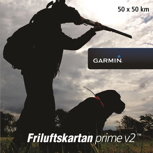 Garmin Friluftskartan Prime V2 Voucher 50×50 km