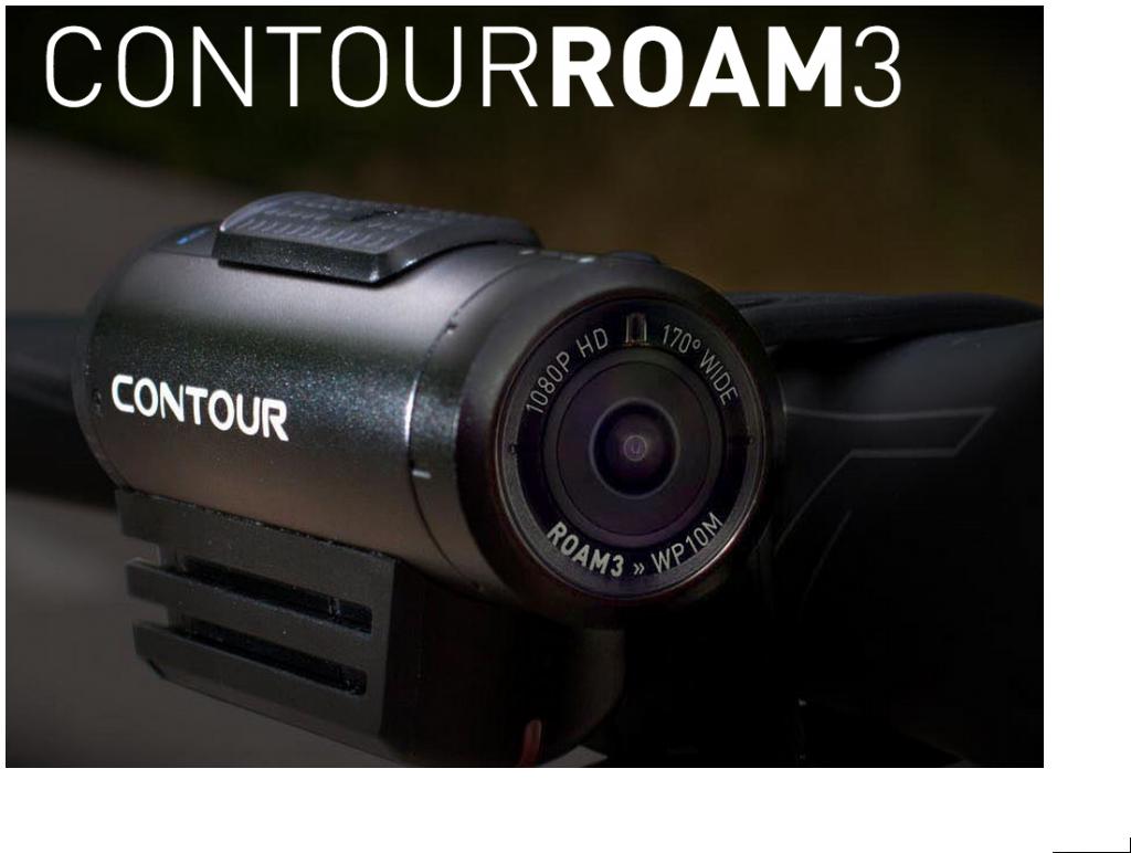 Actionkamera Contour Roam 3