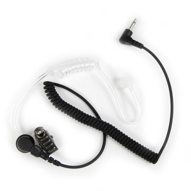 Icom PRO-AT 35L öronsnäcka med akustisk lufttub – 3,5mm kontakt