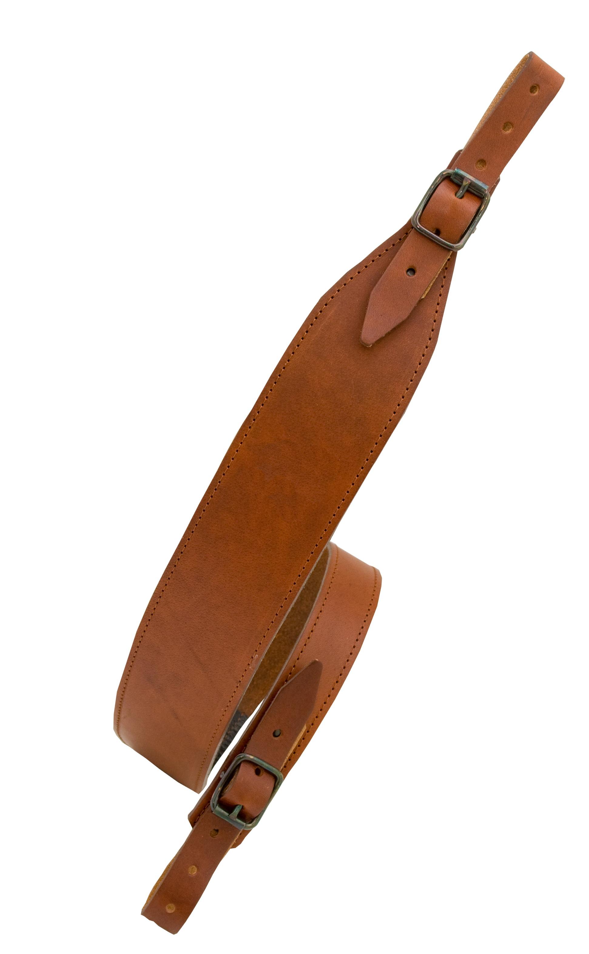 Vapenrem läder Kobra