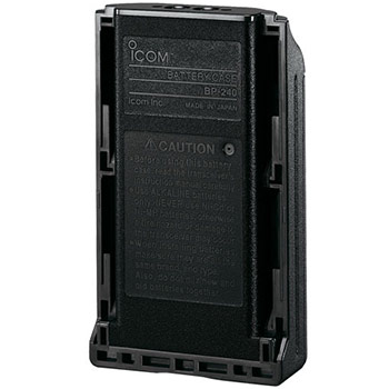Icom BP-240 tomkassett 6 st AAA ProHunt IC-F34 mfl
