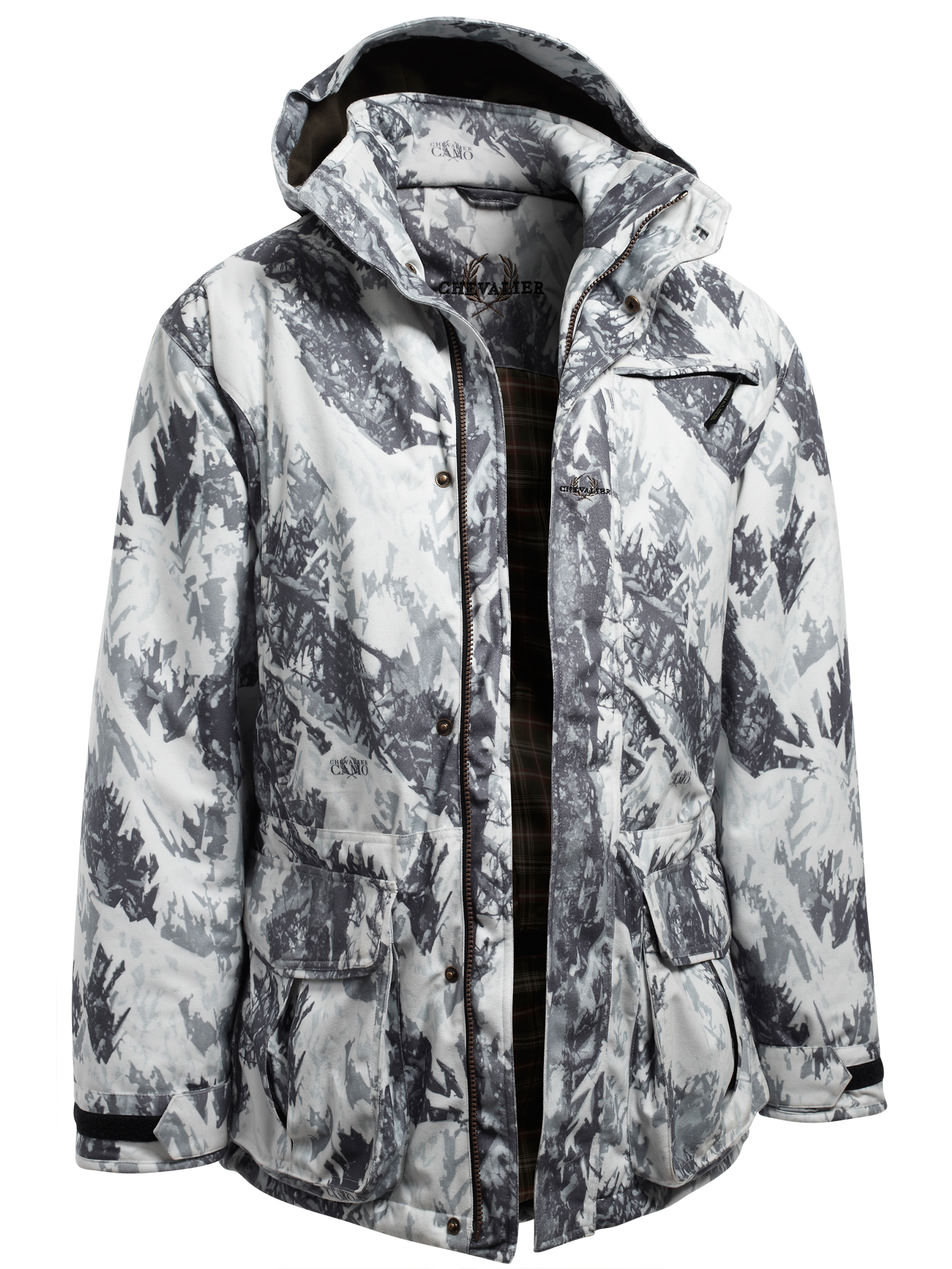 Jacka Chevalier Winter Camo Coat
