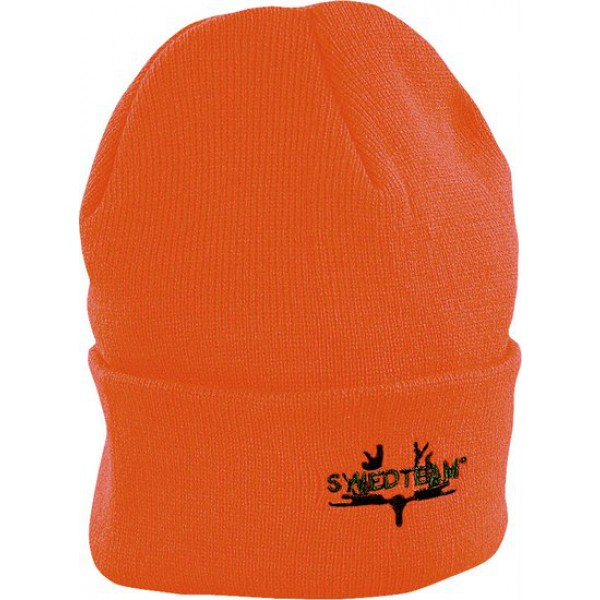 Swedteam Stickad mössa – Orange