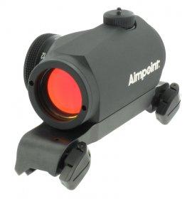 Rödpunktsikte Aimpoint Micro H-1 inkl. Blasermontage (Keps på köpet)