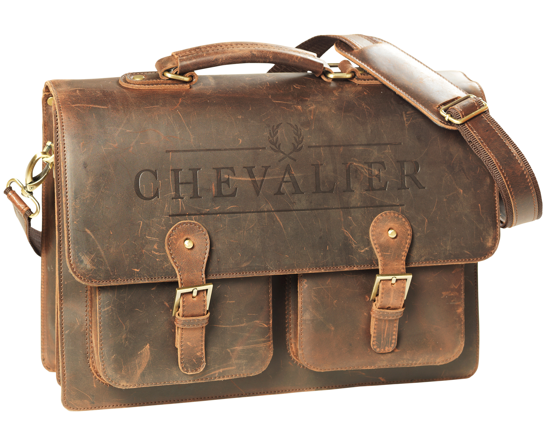 Väska Chevalier Briefcase Leather