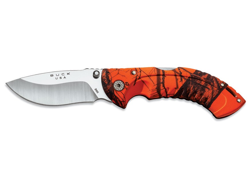 Buck 395 Folding Omni Hunter Blaze