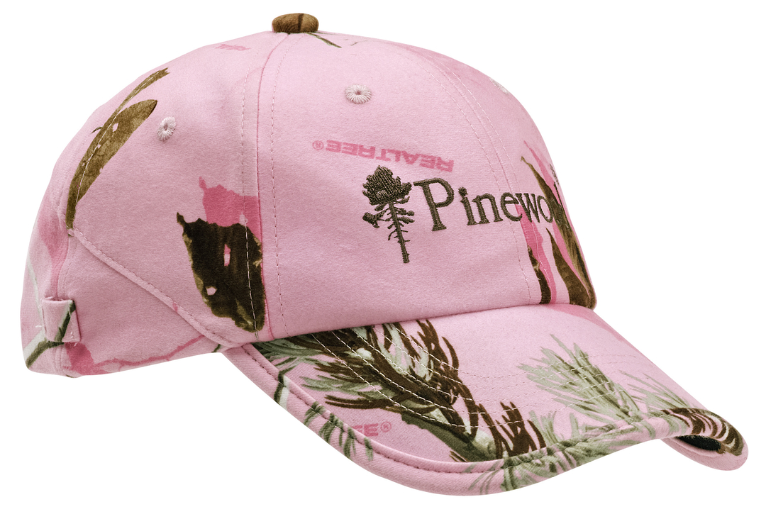 Keps Pinewood Rosa Kamouflage