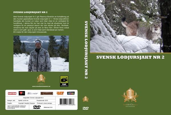 DVD-Film Svensk Lodjursjakt Nr.2