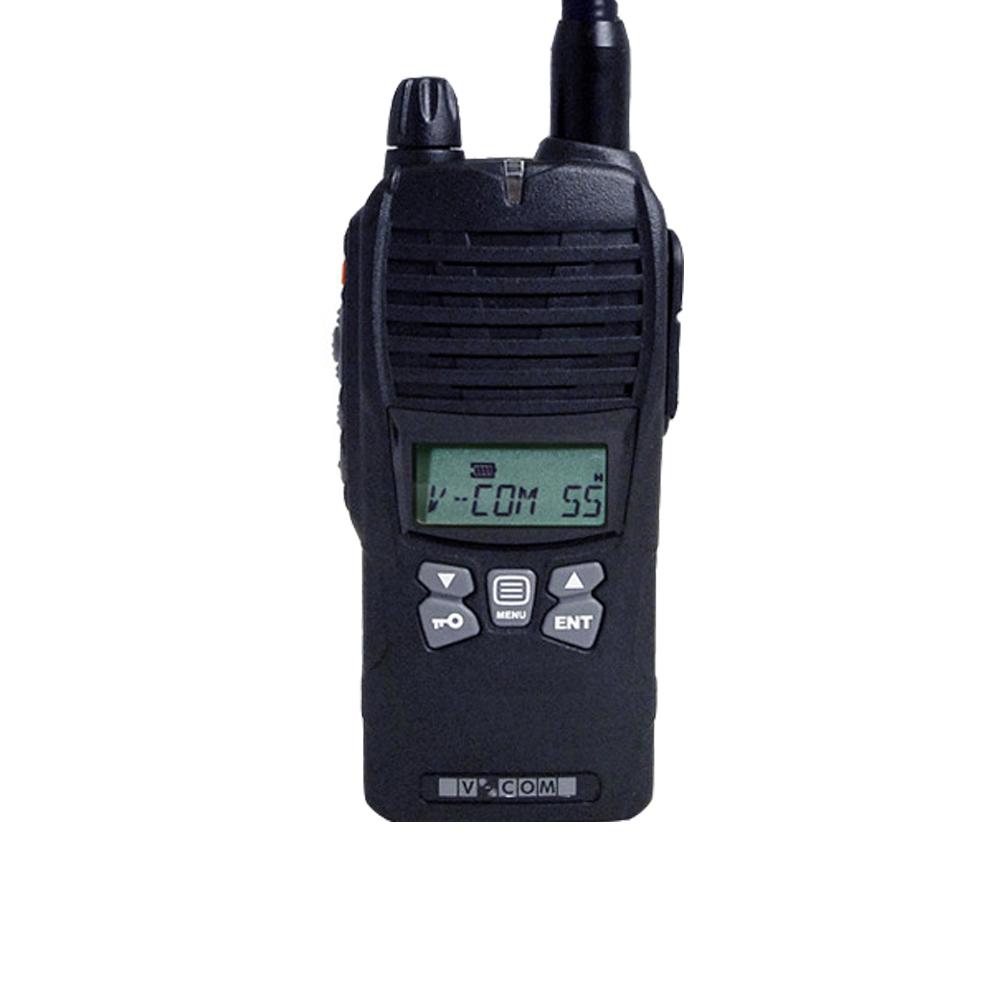 """Jaktradio V-COM V55 155 MHz Svart """"Blåtand"""""""