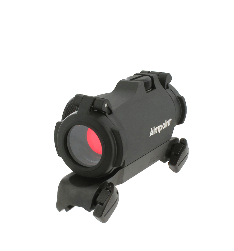 Rödpunktsikte Aimpoint Micro H-2 Blasermontage inkl. (Keps på köpet) PREMIÄR!