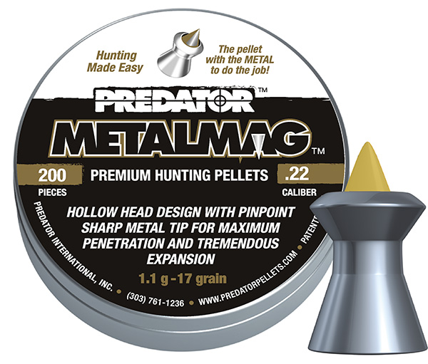 JSB Predator Metalmag 4,50mm – 0,520g