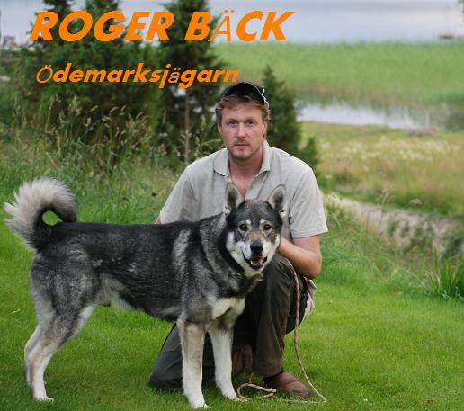 Roger bäck Ödemarksjägarn (Musik cd)