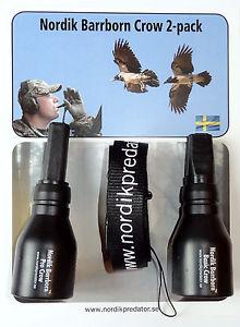 Nordik Barrborn Crow 2-pack