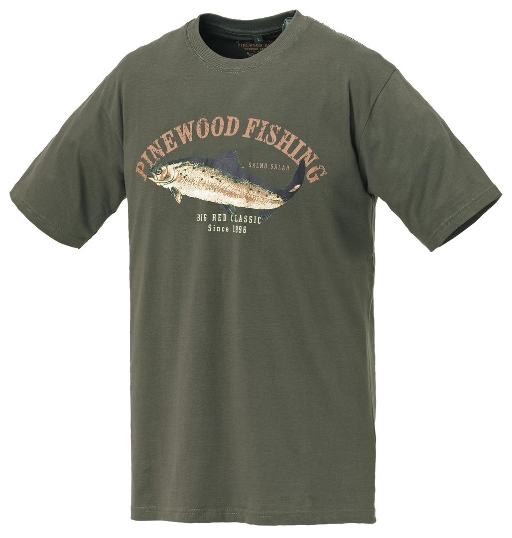 T-Shirt Pinewood Salmon
