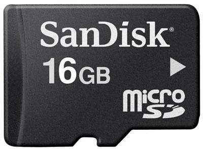 Micro SD Minneskort 16GB