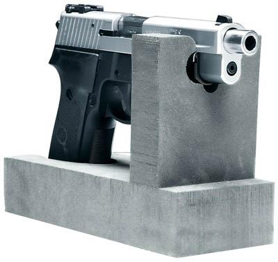 Pistolhållare för 1 handeldvapen