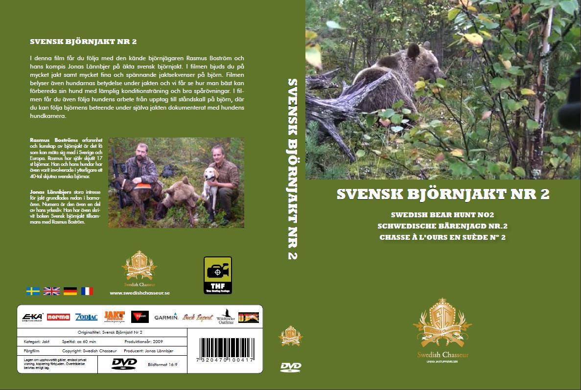 DVD-Filmspaket Svensk Björnjakt Nr. 1 & 2