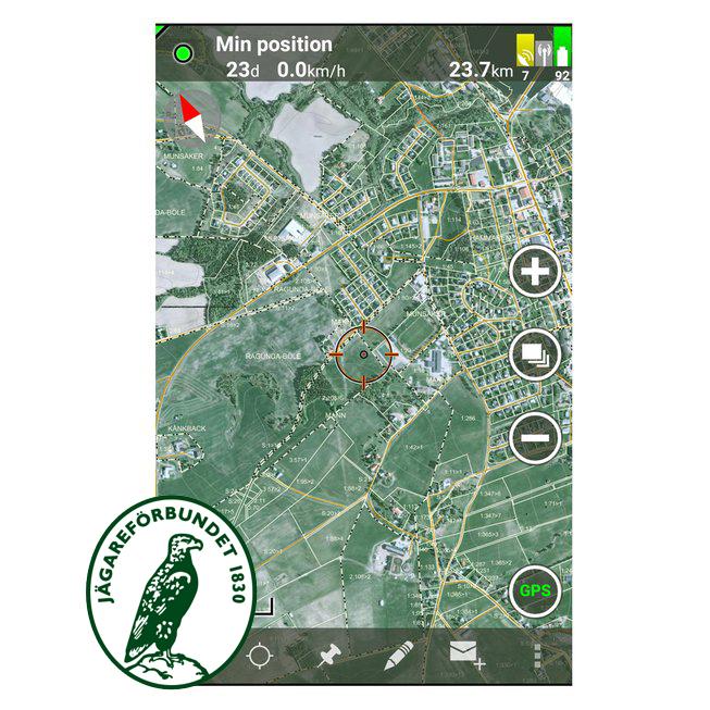 Tracker Hunter 3 & 4  Andrioid/ iOS, Jägareförbundet