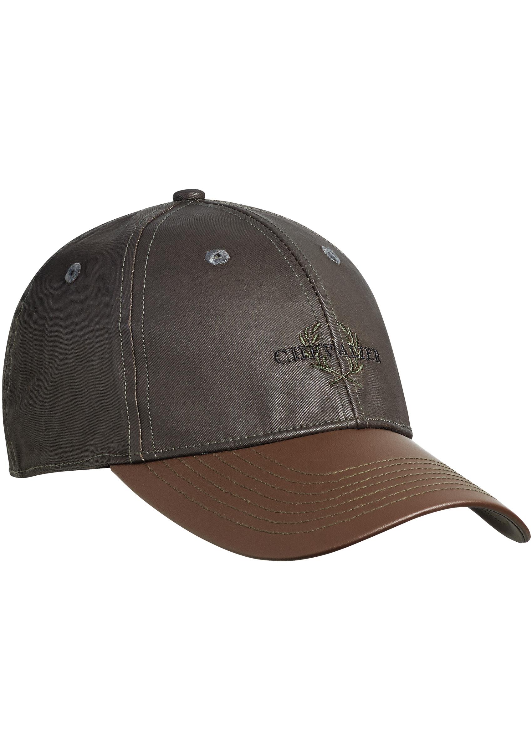 Keps Chevalier  Vintage Cap Faux-Leather Brim