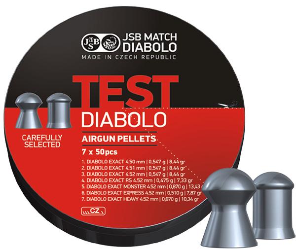 JSB Exact Test 45mm 7 X 50 st